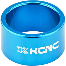 "KCNC Headset Spacer 1 1/8"" 20mm blue"